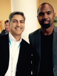 With Charles Woodson - Orlando, FL