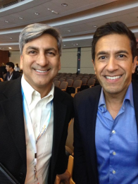 With Sanjay Gupta - Orlando, FL